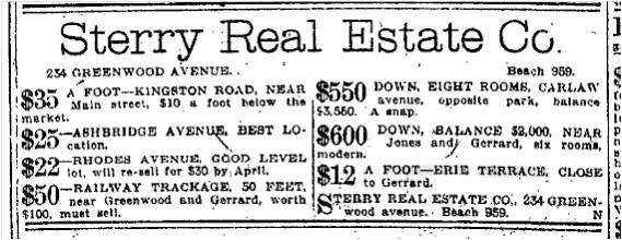 19130227TS Sterry Real Estate