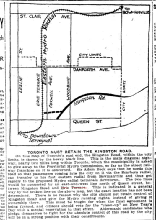 19201210TS Toronto Hydro Radial map