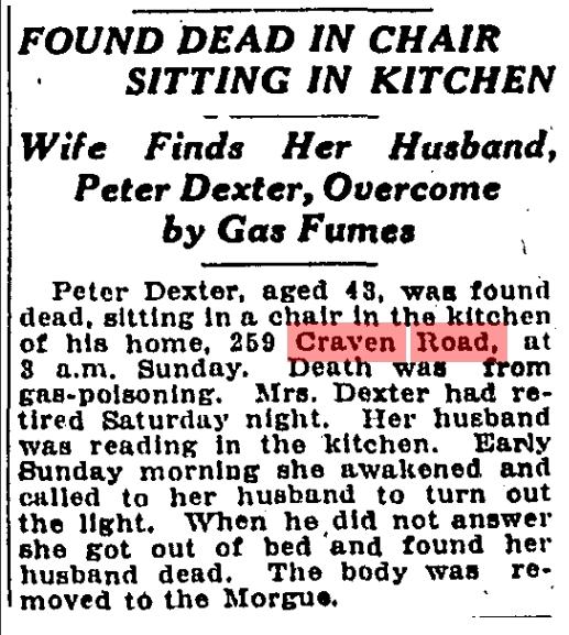 259 CR 19240407GL Dexter dies gas fumes
