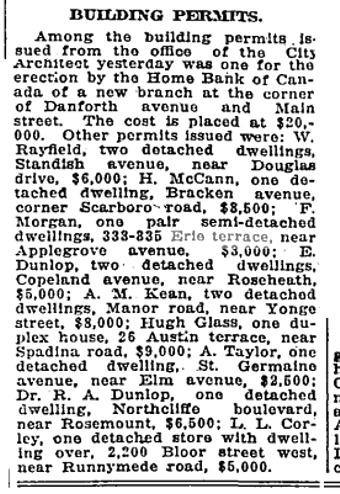 333 CR 19190910GL Building Permits