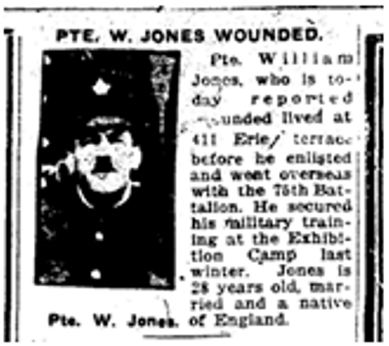 411 CR 19161020TS William Jones wounded