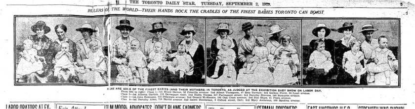 47 Erie Terrace Toronto Star Sept 2 1919