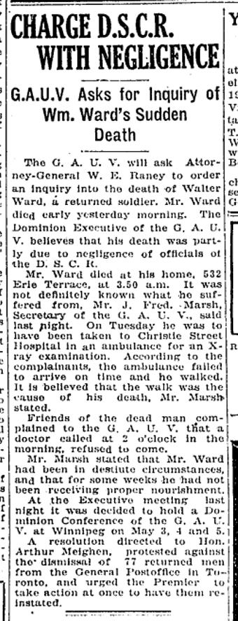 532 CR 19210203GL Death Walter Ward