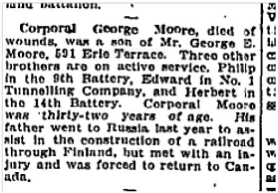 551 CR 19160706TS George Moore dies