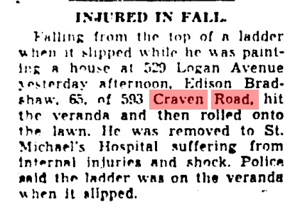 593 CR 19430723GM Injured in fall
