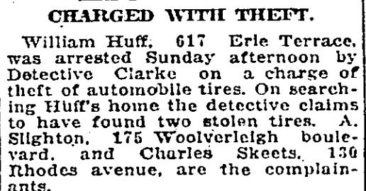 617 CR 19231015GL Theft Auto Tires