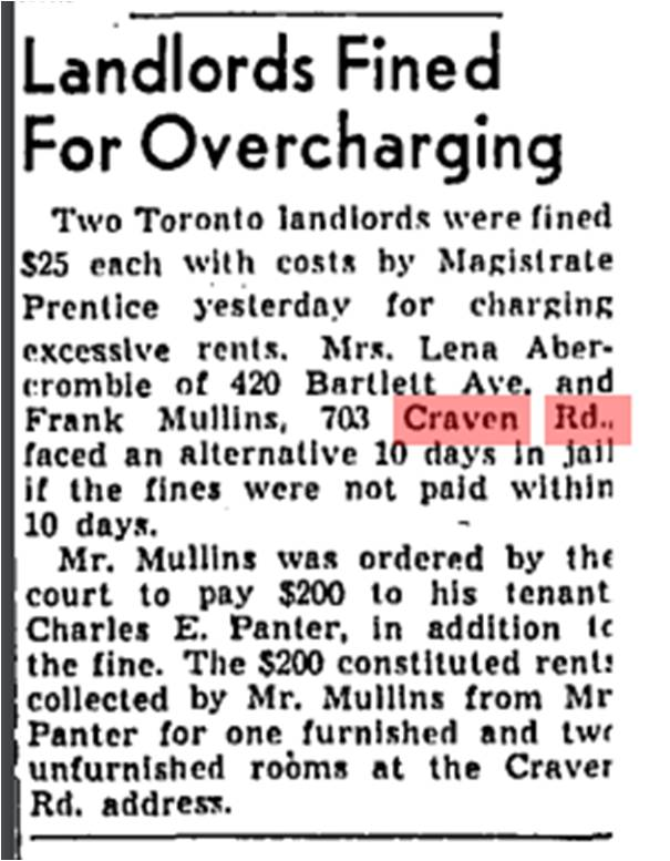 703 CR 19500712GM Landlord charged excessive rents