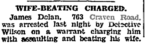763 CR 19340302GL Wife beating