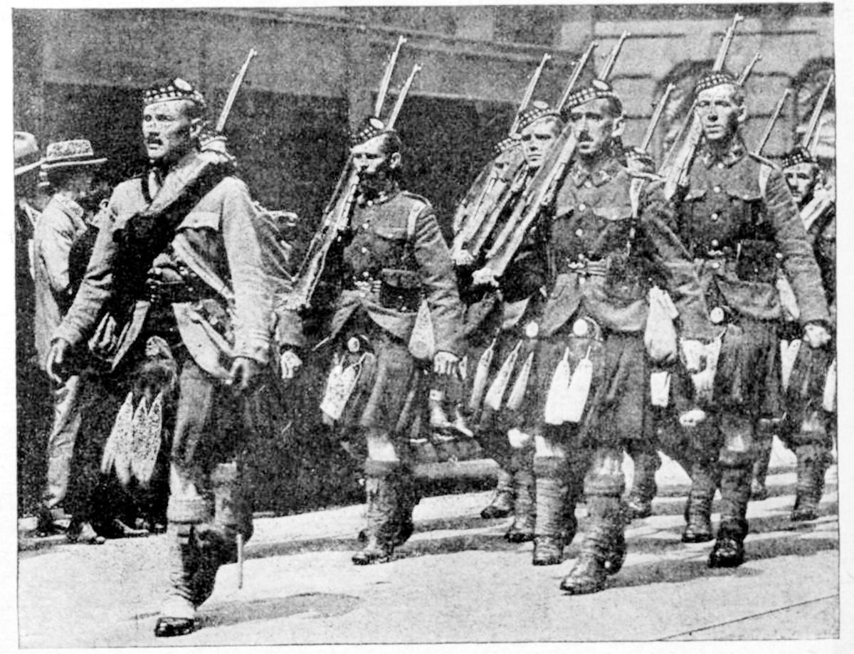 19170804 CDNCOUR Vol. XXII. No. 10 48th Highlanders