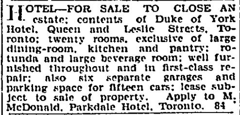 19310112GL Duke for sale