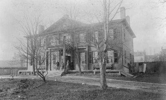 Bishop Strachan House ca 1885 TPL