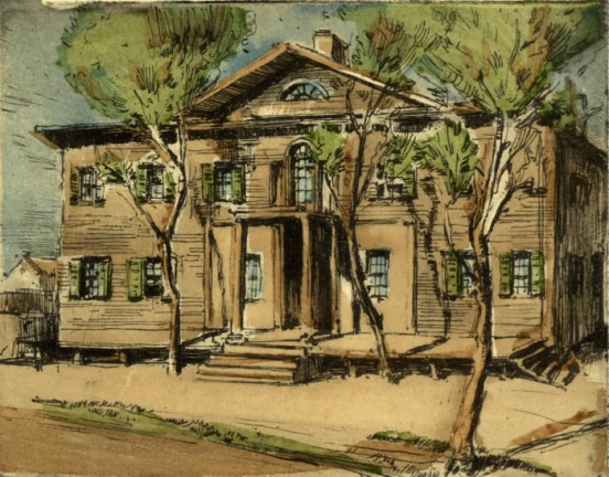 Bishop Strachan House ca 1900 TPL
