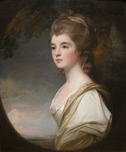 Elizabeth, Duchess-Countess of Sutherland' by George Romney, Cincinnati Art Museum