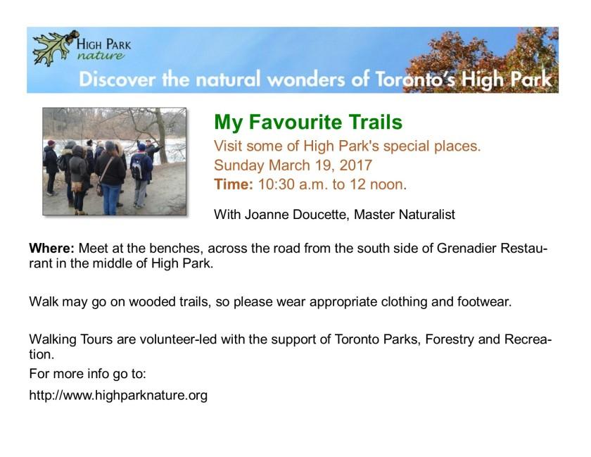 High Park Poster