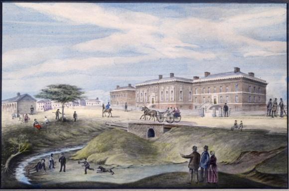 John George Howard Parliament Bldgs 1834 TPL