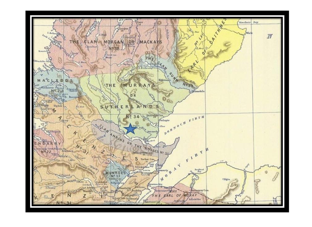 Map Rogart