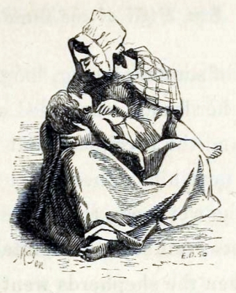 Mother and dead child