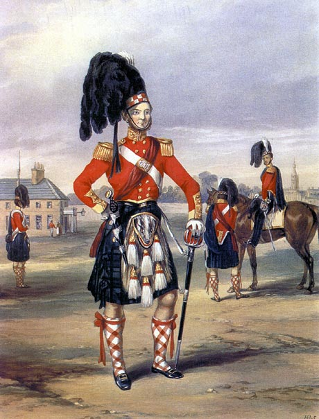 Officer of the 93rd Highlanders
