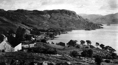 Old Photograph Bracara Loch Morar Scotland