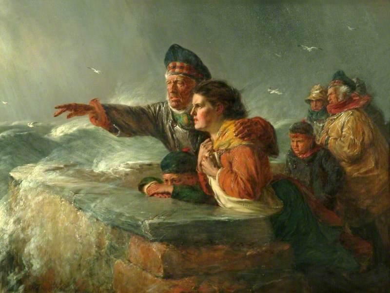 Nicol, Erskine, 1825-1904; The Missing Boat