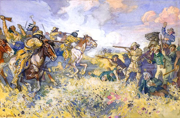 The_Fight_at_Seven_Oaks Charles William Jeffreys