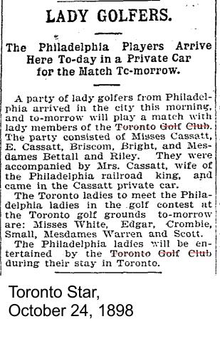 18981024 TS Lady Golfers