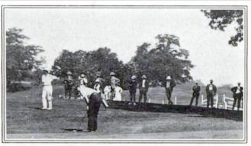 Canadian Courier, Vol. VI, No. 6, July 6, 1909 stile scene