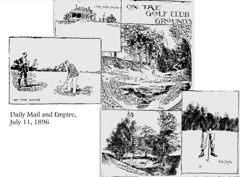 Daily Maily and Empire, July 11, 1896 Collage