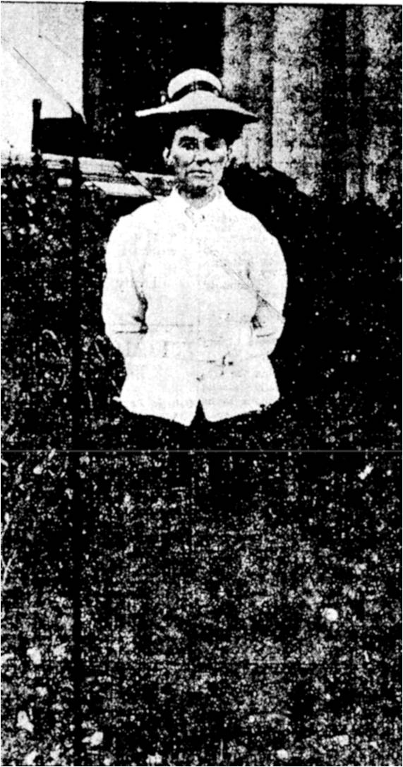 Dorothy Campbell, Hamilton, runner up, Toronto Star, September 26, 1906