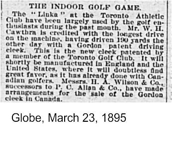 Globe, March 23, 1895 The Jack Gordon cleet