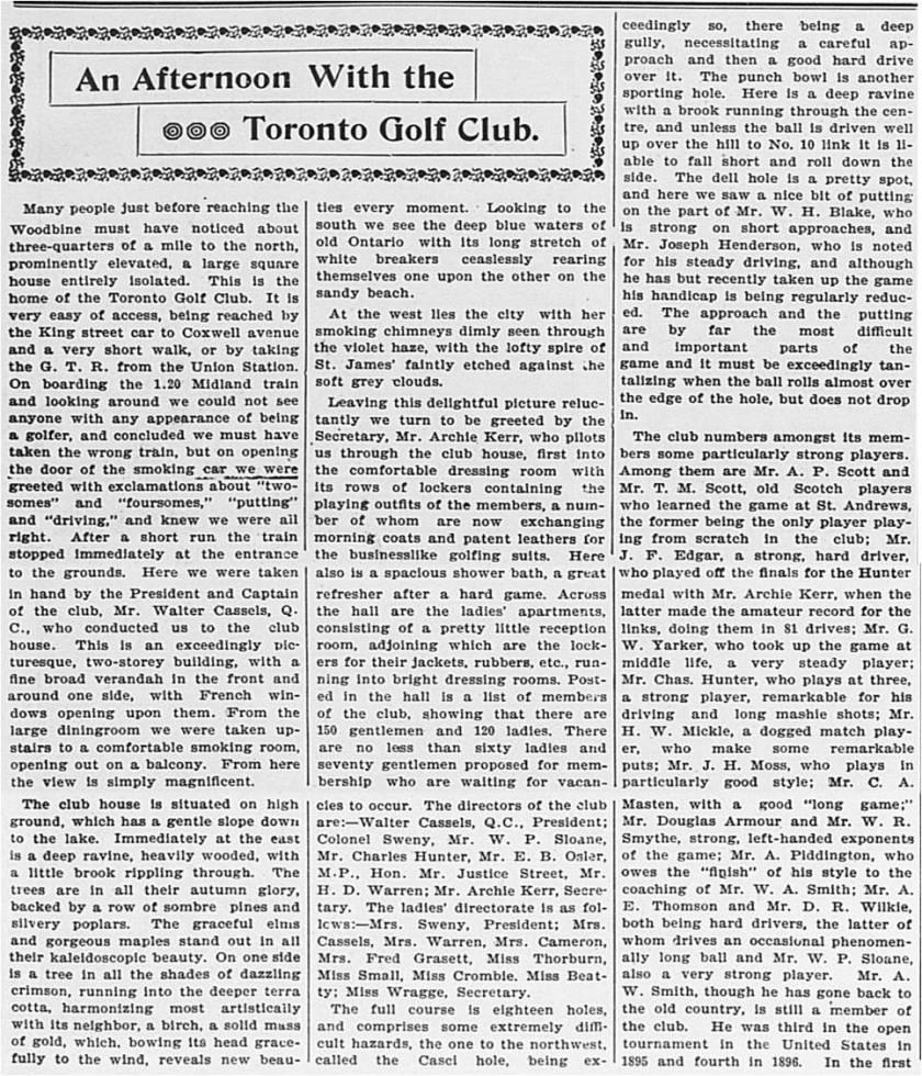 Globe, November 7, 1896 A1