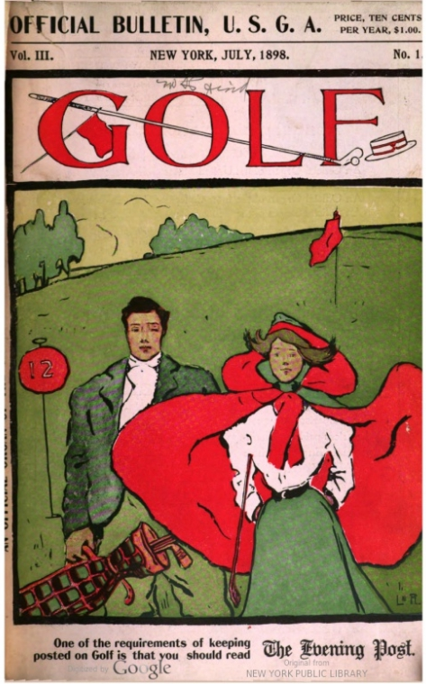 Golf Magazine, Vol. III, No. 1, July 1898 Cover