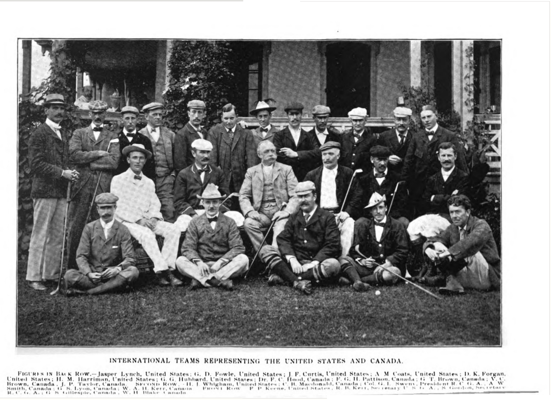 Golf, Vol. III, No. 1, July, 1898 International Team 262