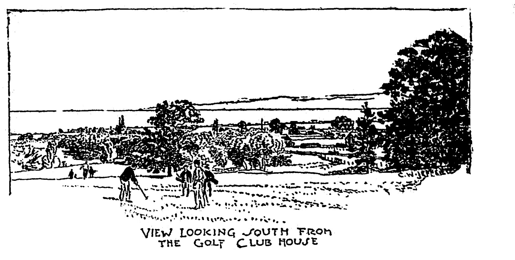 Looking south September 25 1903