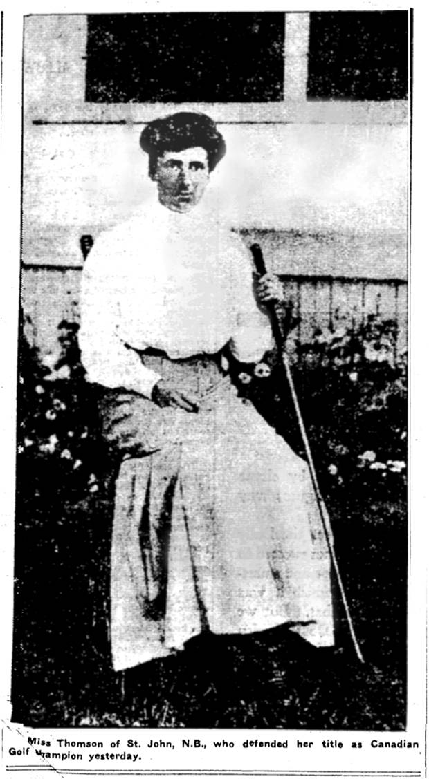 Mable Thomson winner, Toronto Star, September 26, 1906