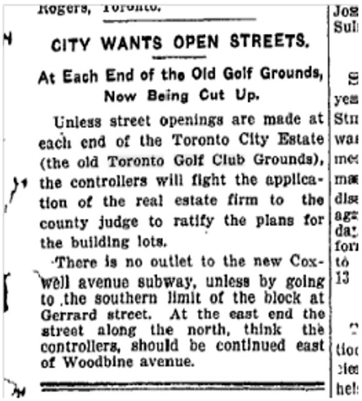Toronto Star, Feb. 12, 1912