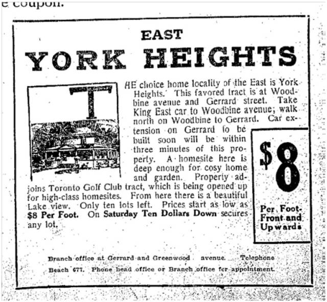 Toronto Star, June 16, 1911