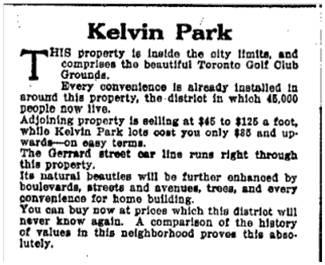 Toronto Star, June 18, 1912