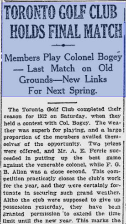 Toronto World, December 2, 1912 a