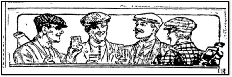 Toronto World, Jan. 22, 1911 drawing