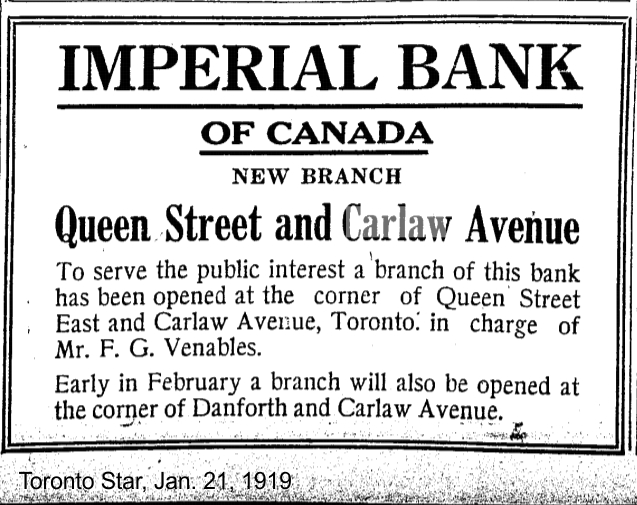 toronto-star-jan-21-1919-cibc-carlaw-and-queen
