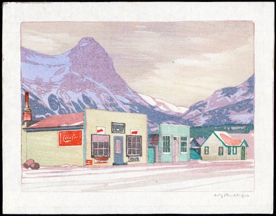 Walter Joseph Phillips, no date, Library and Archives Canada Enchanced