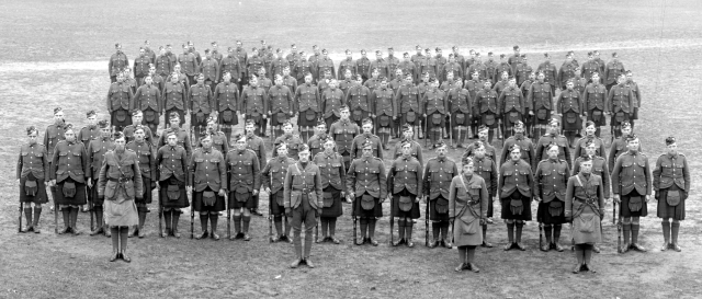 92nd Battalion (48th Highlanders), C.E.F., Riverdale Camp, 1915