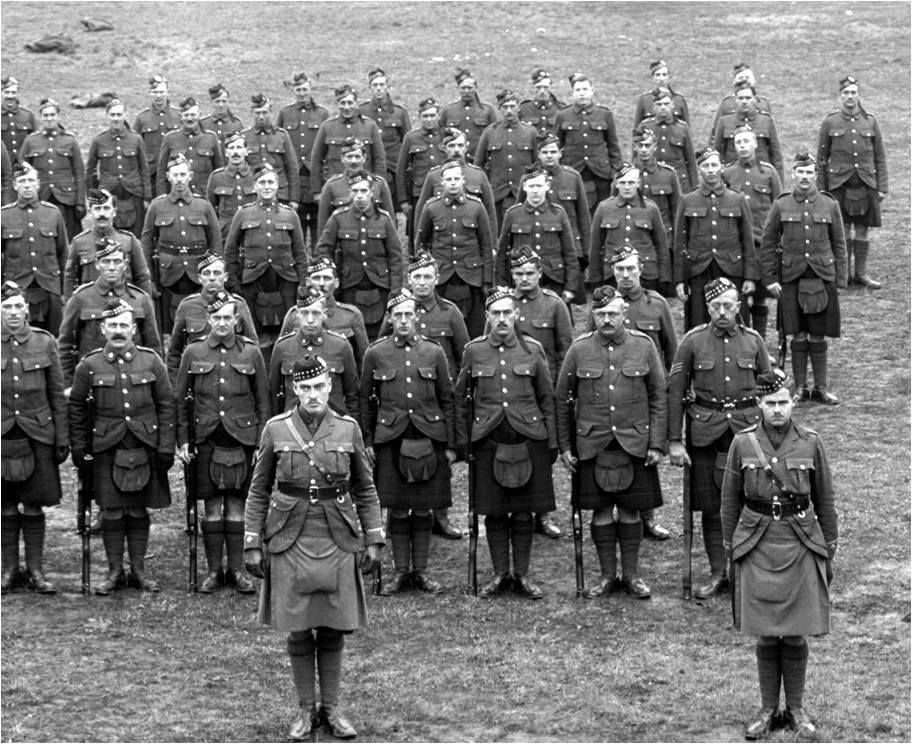 92nd Battalion (48th Highlanders), C.E.F., Riverdale Camp, 1915