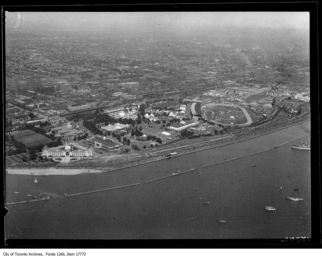 Aerial shots, Exhibition. - August 30, 1929