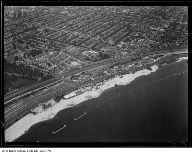Aerial shots, High Park and Grenadier Pond, from north. - August 30, 1929
