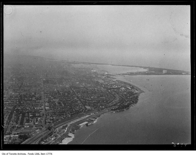 Aerial shots, Sunnyside. - August 30, 1929