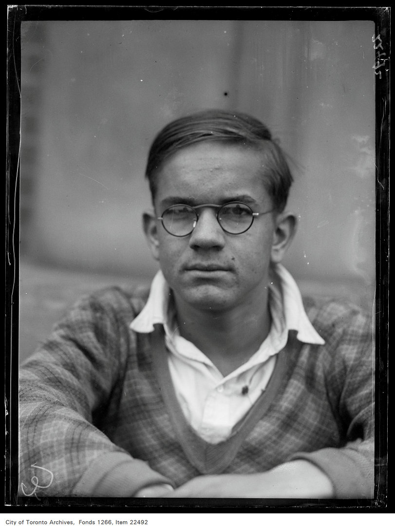 Eastern [School of] Commerce [commencement portraits], Norman McDermott.