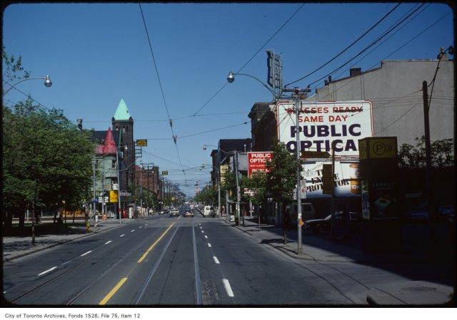 View of Queen Street East near Church Street