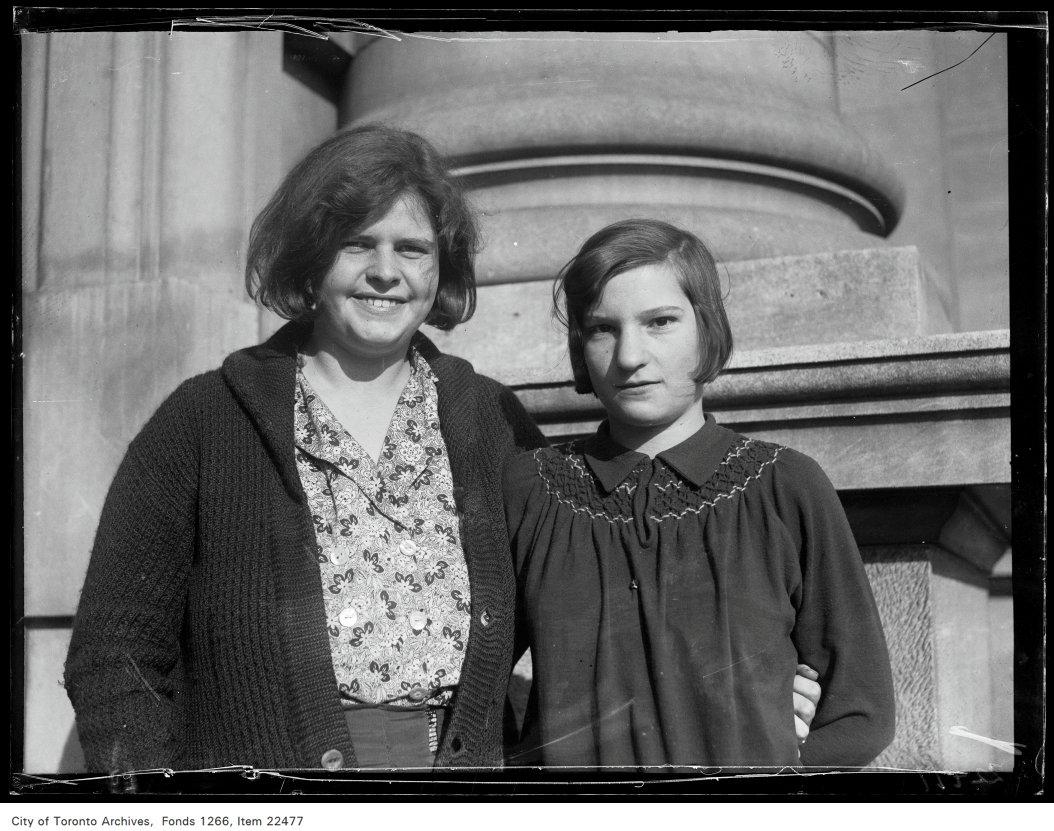 Riverdale Collegiate [commencement portraits], Flora Christie, Elsie Cochrane.